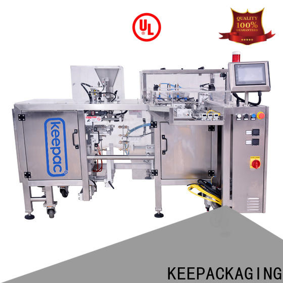Keepac different sized doypack machine company for beverage