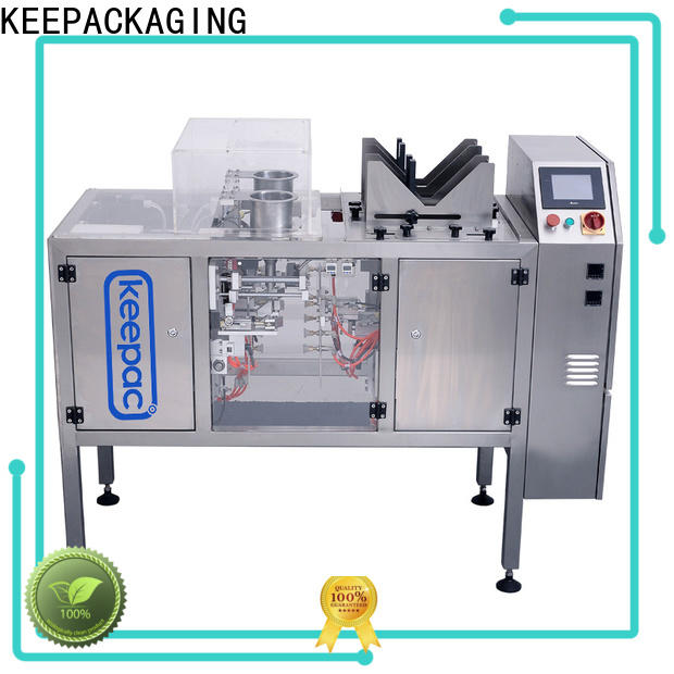 Keepac mini mini doypack machine company for pre-openned zipper pouch