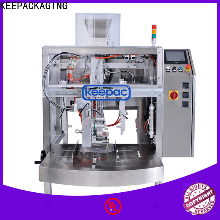 Wholesale snack food packaging machine mini company for pre-openned zipper pouch