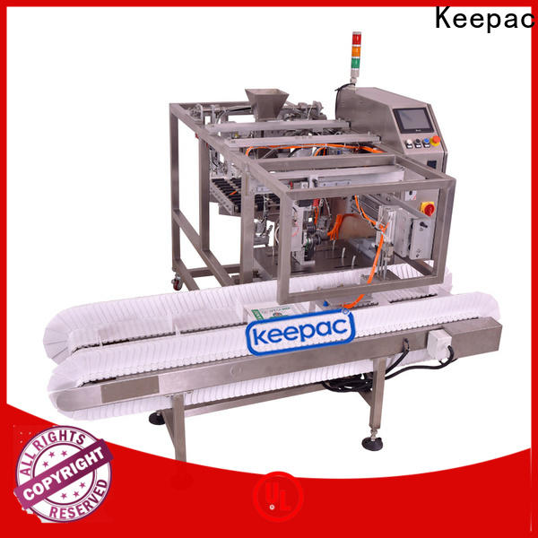 Keepac multi bag format grain packing machine for business for food