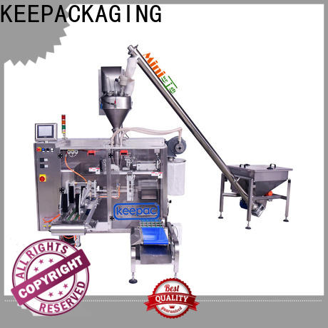 Keepac duplex form fill seal machine company for standup pouch