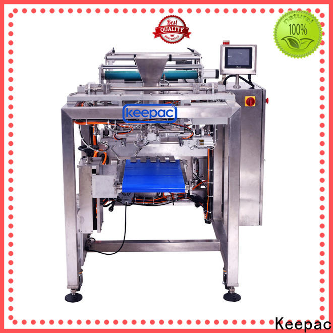 Keepac PE tubular food package sealing machine for business for standup pouch