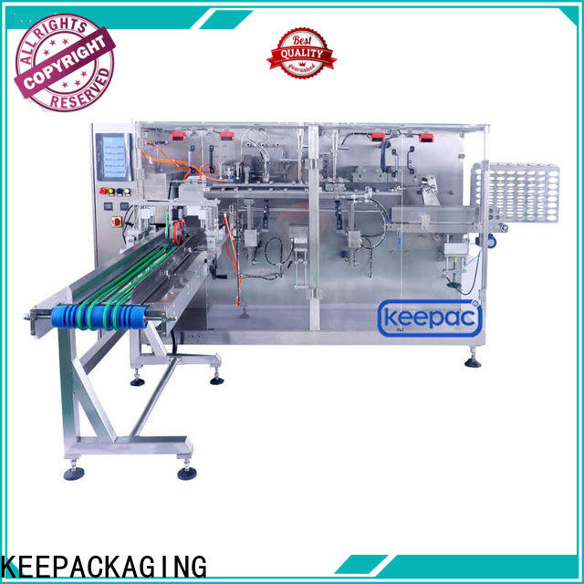 Keepac staight flow design low cost packing machine Supply for beverage