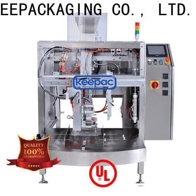 Keepac Latest small food packaging machine manufacturers for beverage