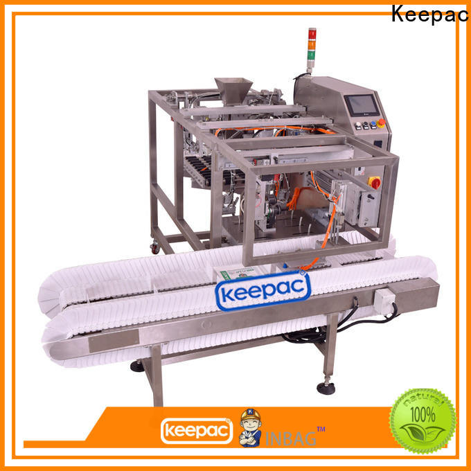 Keepac Wholesale doypack machine for business for pre-openned zipper pouch