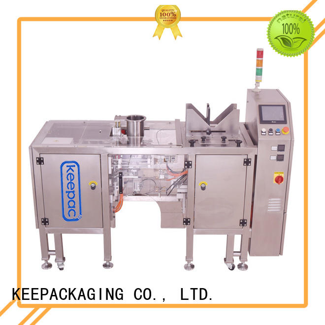 Keepac different sized mini doypack machine manufacturers for pre-openned zipper pouch