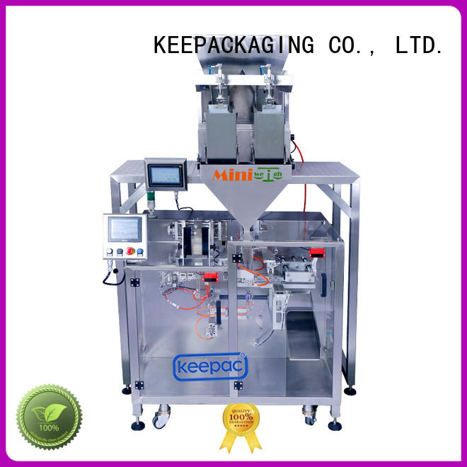 Keepac convenient seal packing machine supplier for zipper bag