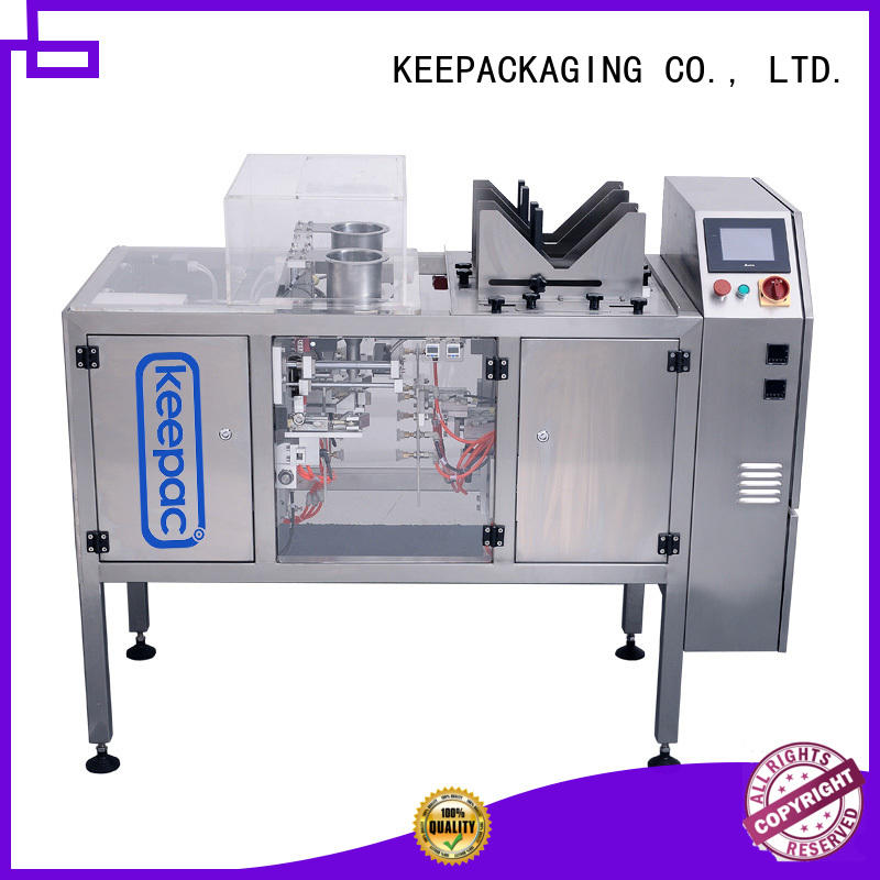 Keepac good price product packaging machine mini for food