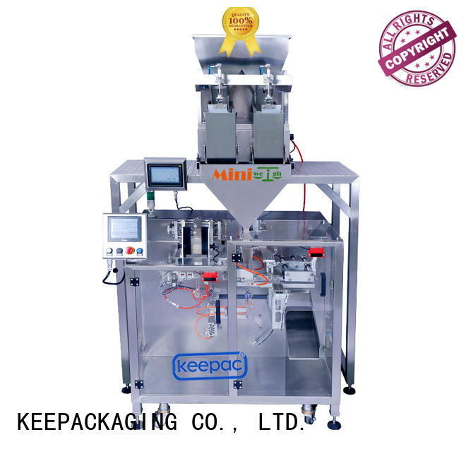 efficient powder pouch packing machine linear manufacturer for zipper bag