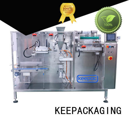 Keepac high quality low cost packing machine multi bag format for commodity