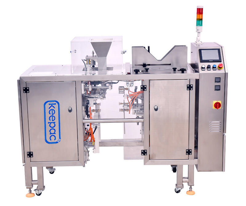 Keepac low cost chips packaging machine customized for pre-openned zipper pouch-2