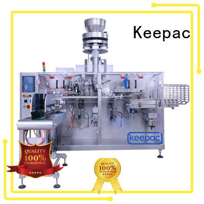 spout horizontal packing machine customized for food Keepac