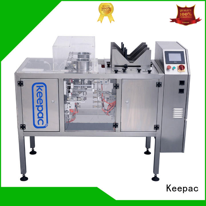 Keepac low cost doypack machine wholesale for pre-openned zipper pouch