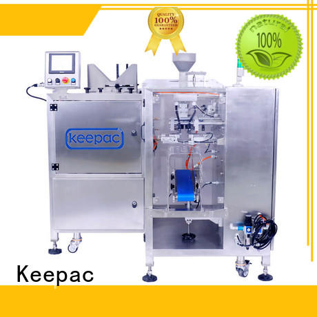 Keepac stainless steel 304 grain packing machine manufacturing for food