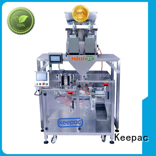 convenient powder packing machine duplex manufacturer for standup pouch