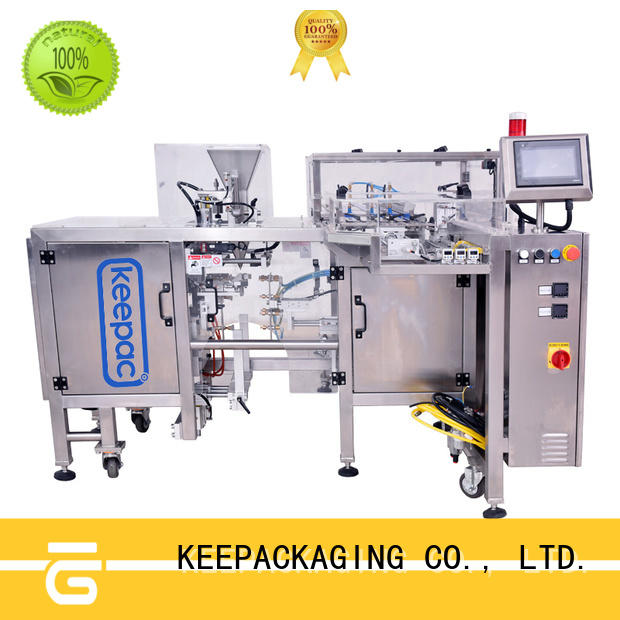 Keepac multi bag format small food packaging machine factory direct for food
