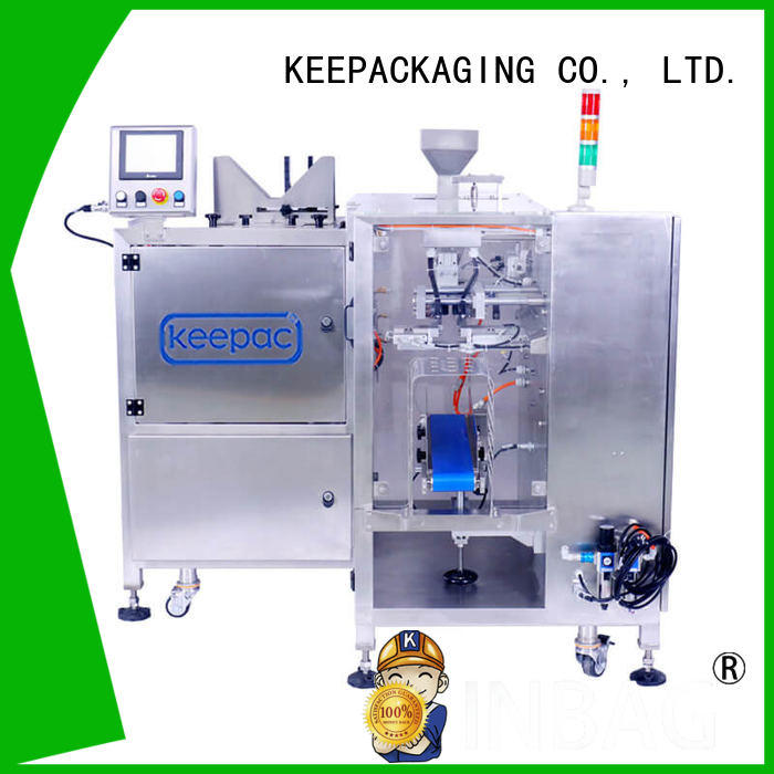 Keepac good price fully automatic packing machine multi bag format for food
