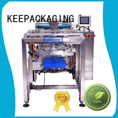 Keepac convenient automatic packing machine customized for zipper bag
