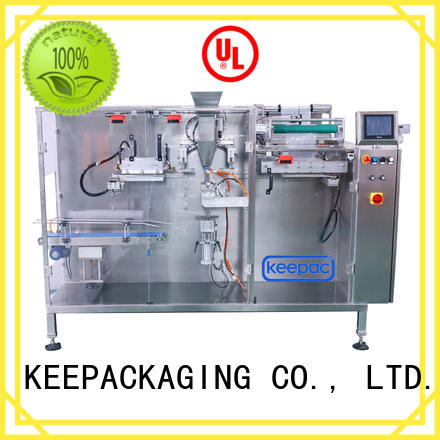 Keepac staight flow design packaging machine design manufacturer for commodity