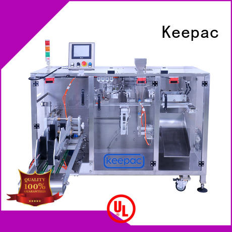 Keepac efficient horizontal form fill seal machine supplier for standup pouch