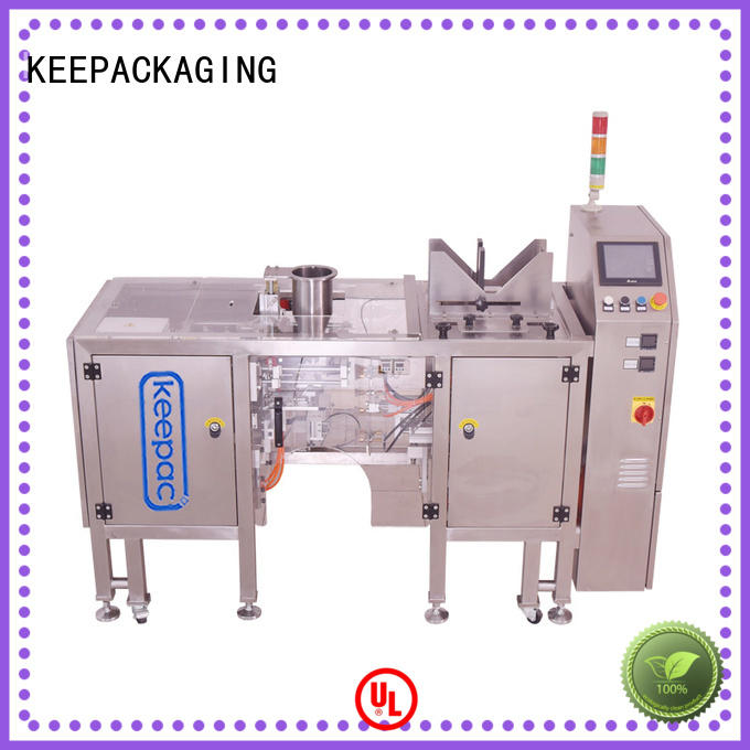 automatic snack food packaging machine quick release customized for beverage
