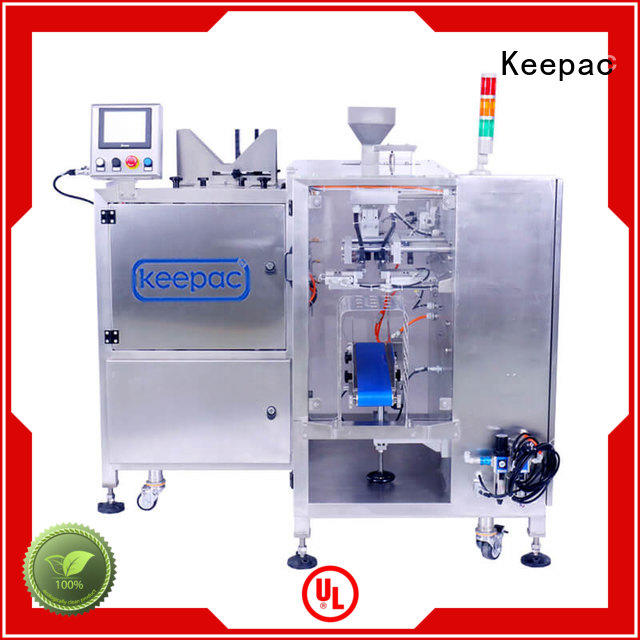 Keepac quick release small food packaging machine wholesale for pre-openned zipper pouch