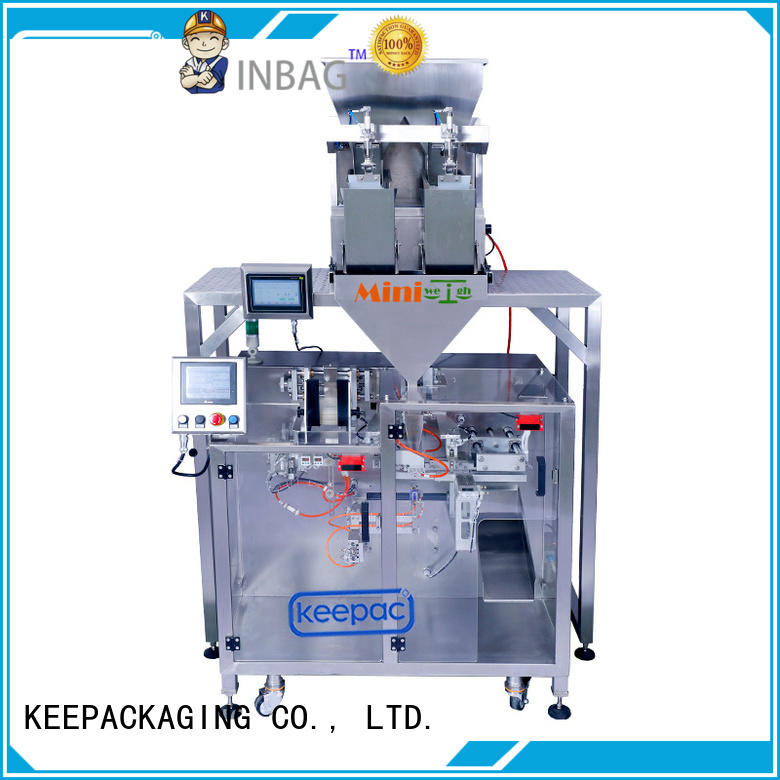 Custom powder packing machine staight flow design manufacturers for food