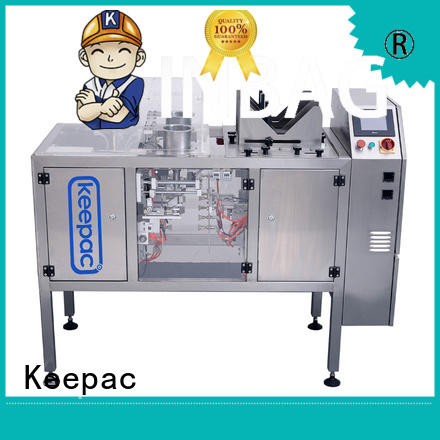 multi bag format automatic grain packing machine manufacturing for pre-openned zipper pouch