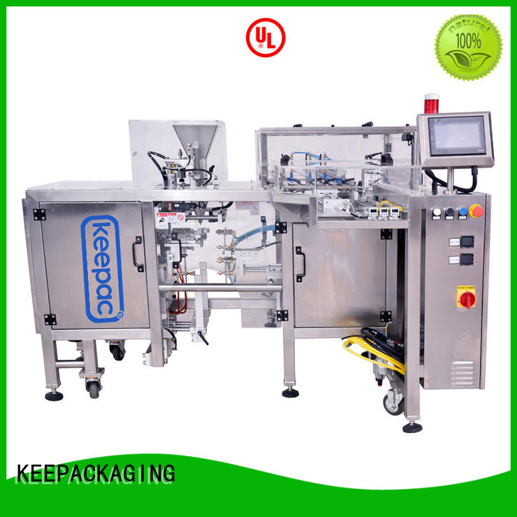 Latest snack food packaging machine quick release factory for pre-openned zipper pouch