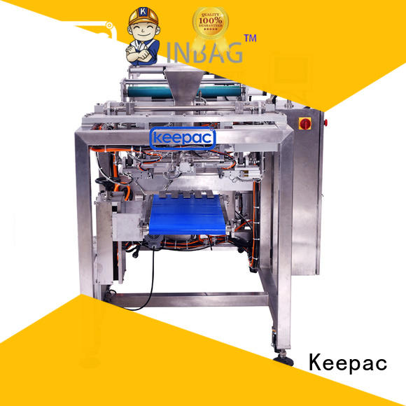 Keepac convenient small packaging machine straight flow design for food