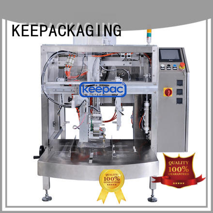 Keepac quick release potato packing machine factory direct for pre-openned zipper pouch