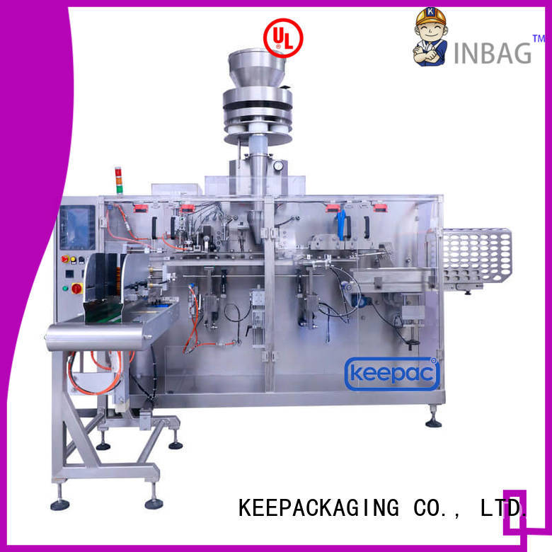 Keepac staight flow design industrial packing machine factory for commodity