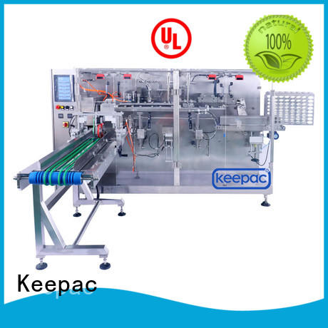 Keepac pouch dry food packing machine supplier for food