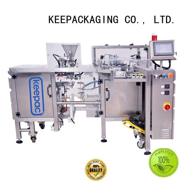 Quality Keepac Brand product packaging machine steel auto