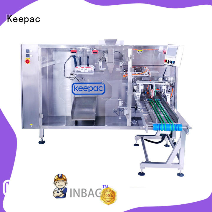 Custom milk pouch packing machine easy to clean company for 3 sides sealed pouch
