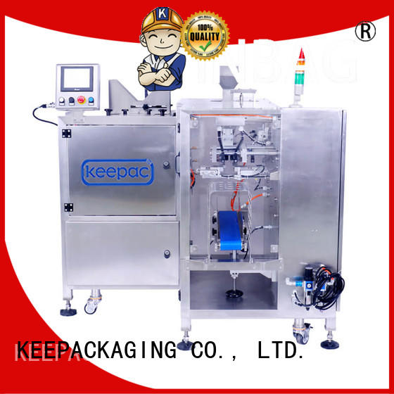 Keepac multi bag format doypack machine customized for beverage