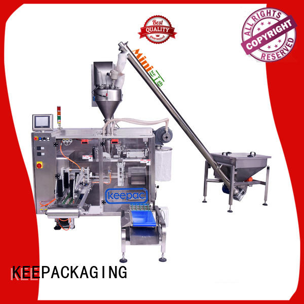 Keepac linear horizontal form fill seal machine supplier for food