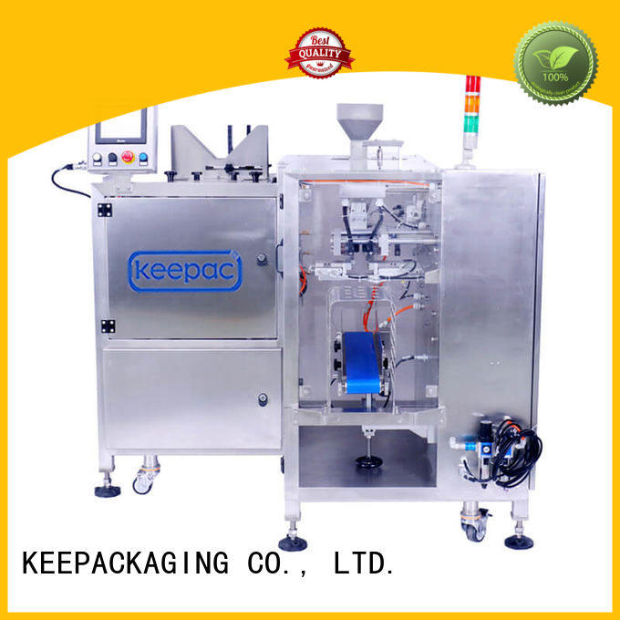 Custom design steel food packaging machine Keepac model