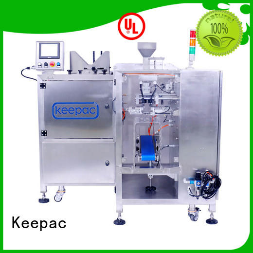 adjustable food packaging machine mini wholesale for pre-openned zipper pouch