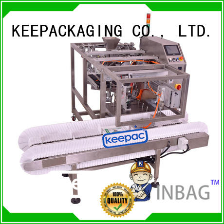 Keepac cost-effective snack food packaging machine stainless steel 304 for pre-openned zipper pouch