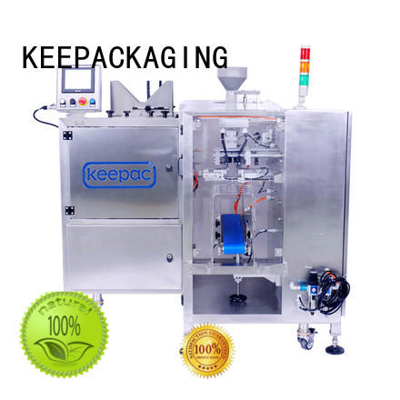 Keepac stainless steel 304 doypack machine factory for food