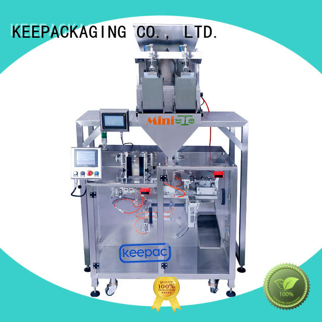 Keepac 8 inches powder pouch packing machine for business for zipper bag
