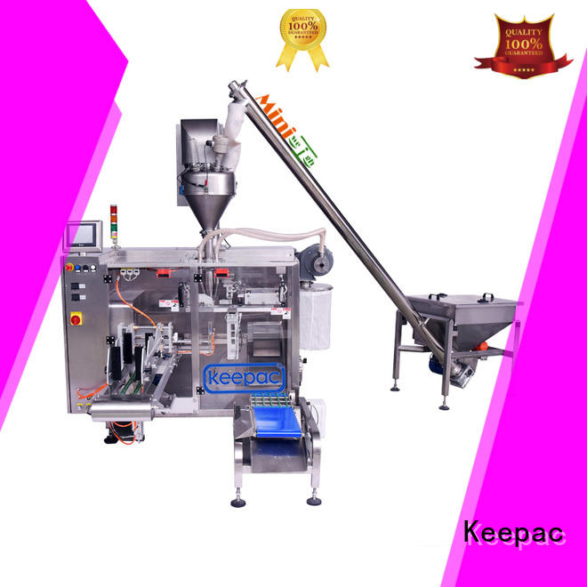 high quality plastic packaging machine design for zipper bag Keepac