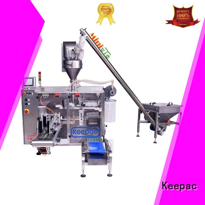 high quality plastic packaging machine design for zipper bag Keepac