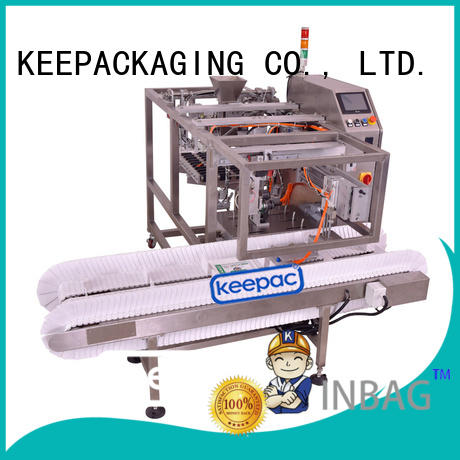 cost-effective fully automatic packing machine wholesale for pre-openned zipper pouch Keepac