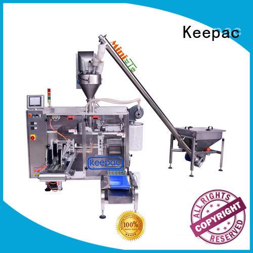 Keepac duplex seal packing machine design for zipper bag