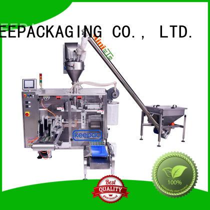 Keepac convenient powder packing machine design for food