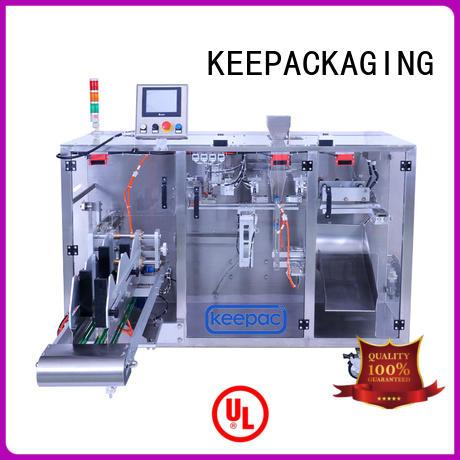 professional pick fill seal machine duplex design for zipper bag
