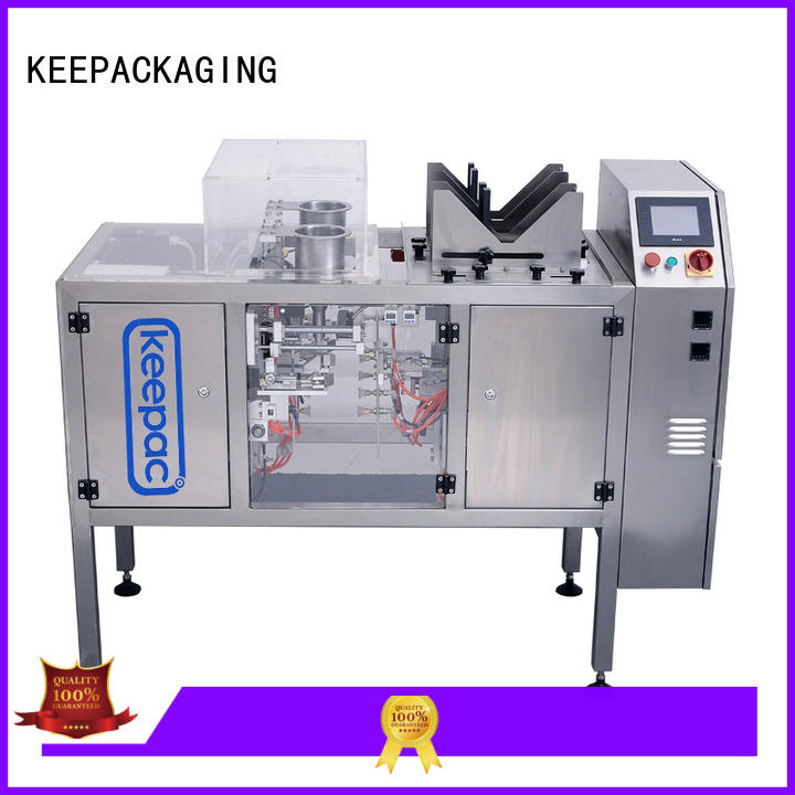 Keepac professional fully automatic packing machine mini for beverage