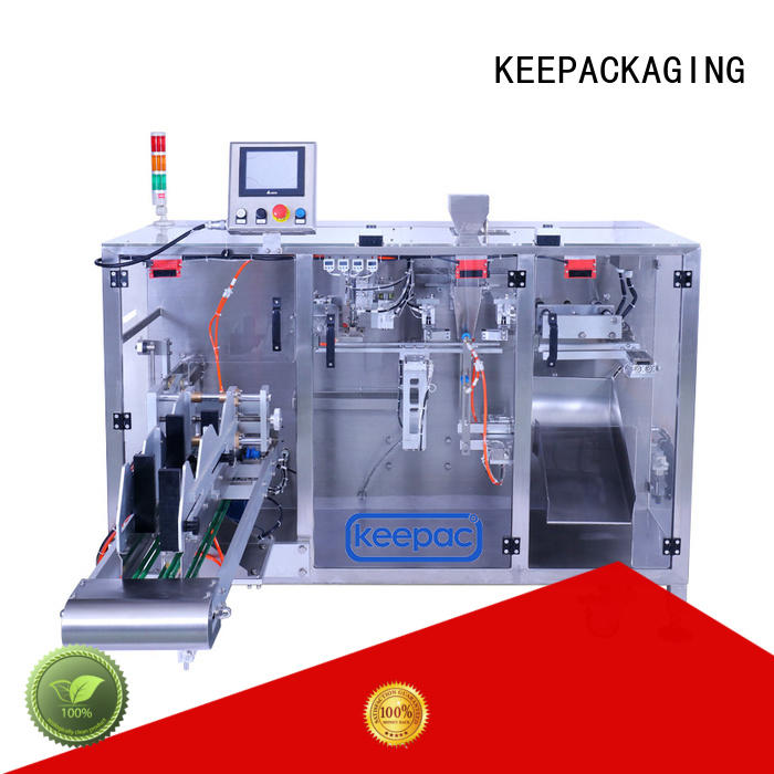 Keepac high quality powder pouch packing machine wholesale for zipper bag